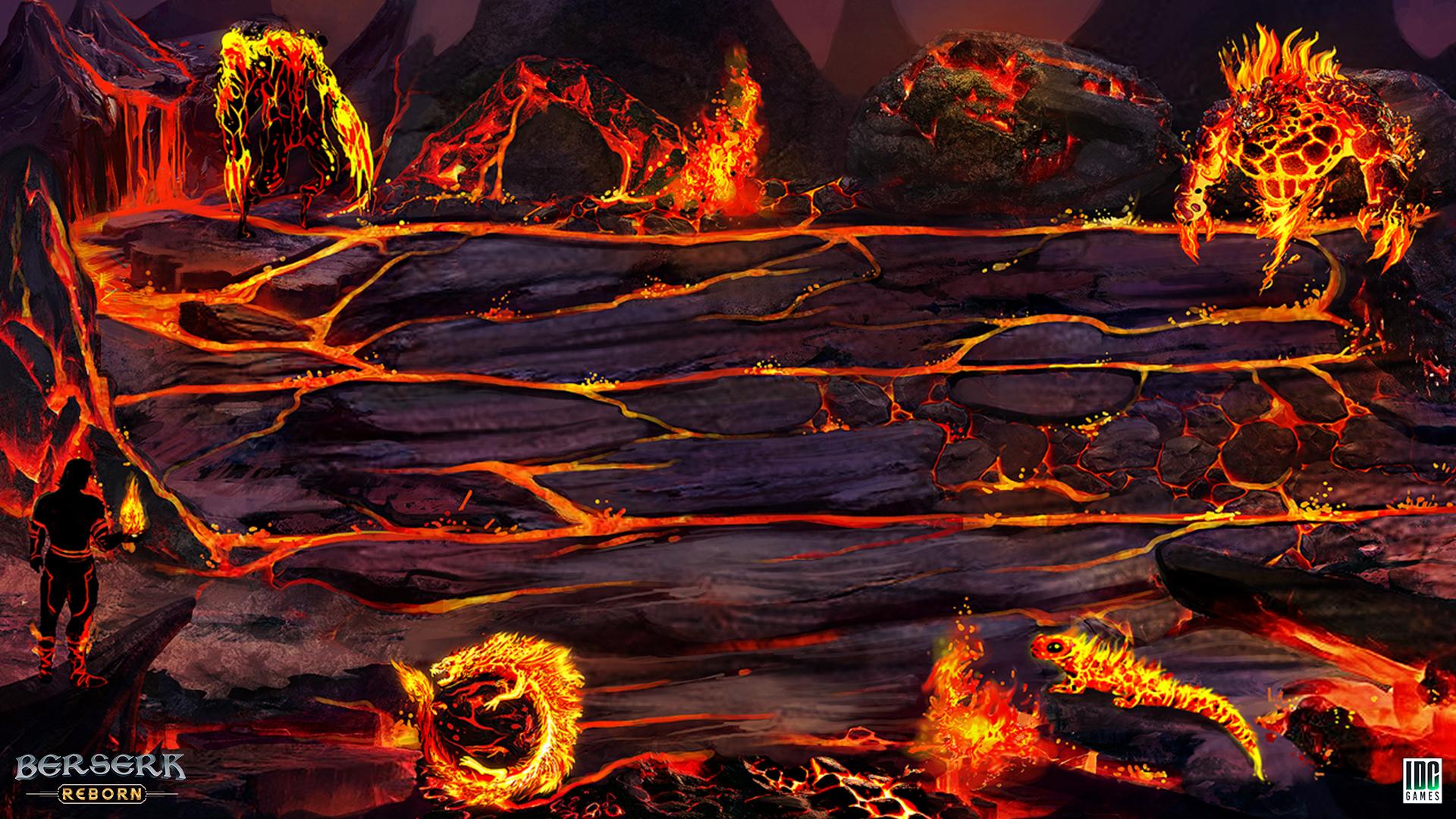 Berserk Reborn - Fire Wallpaper